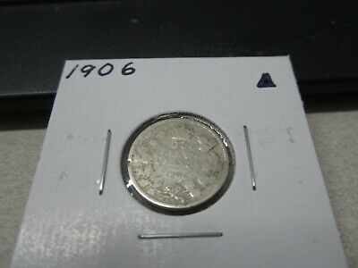 1906 - Canada - silver 10 cent coin - Canadian dime