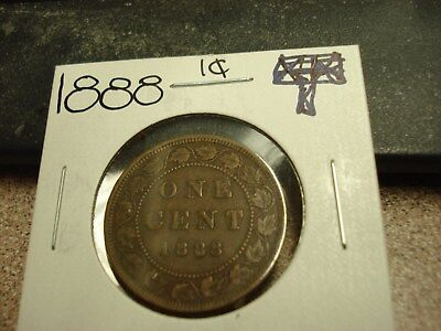 1888 - Canada - High Grade one cent - Canadian penny