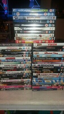 50 different Joblot DVD bundle collection job lot watched once bargain price. A