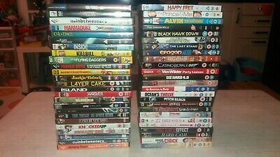 50 different Joblot DVD bundle collection job lot watched once bargain price.  C