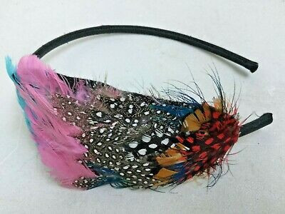 Fascinator Band - Multi Coloured Feather By Accessorize Sh14