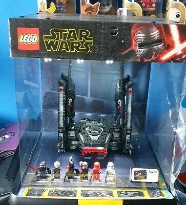 LEGO Star Wars 75256 Kylo Ren's Shuttle light up display box. Excellent conditio