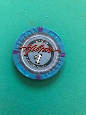 Las Vegas Hilton Casino Chip Closed 2012 Issued 1999