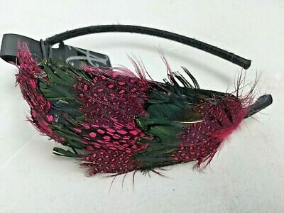 Fascinator Band By Accessorize - Pink Feather Sh20