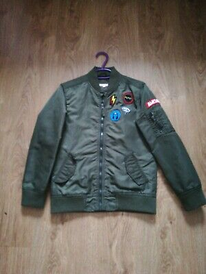 Boys Blue zoo Bomber jacket 11 years