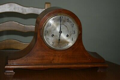 Antique German Badische Uhrenfabrik Chiming  Mantle Clock -Restoration