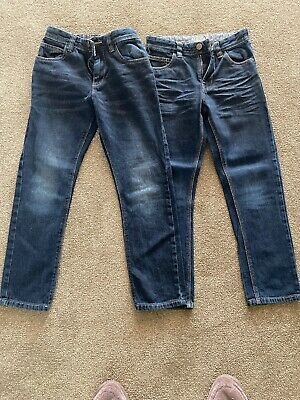 2 Pairs of boys next jeans age 9