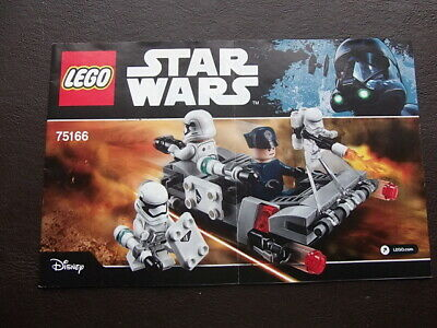 LEGO-75166 Star Wars-First Order Transporter Speeder - Instruction Manual ONLY