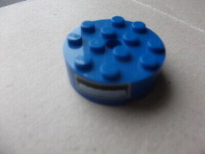 LEGO 87081 BRICK 4X4 ROUND w//pinhole /& snapstud  87081 CHOICE OF COLOR pre-owned