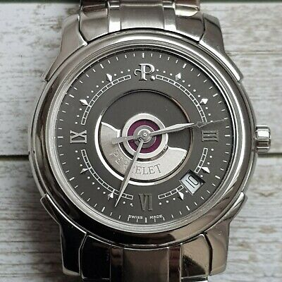 Perrelet Classic Double Rotor Automatic Stainless steel wristwatch.