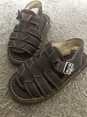 Dr Martens Kids Leather Sandals Infant Size 10 Boys Girls