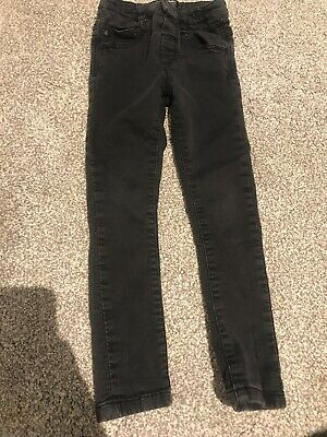 Next Boys Dark Grey Jeans Age 4-5 Years