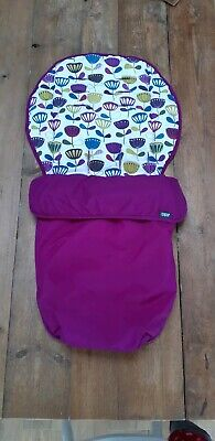 Mamas and papas universal footmuff / cosy toes / buggy liner