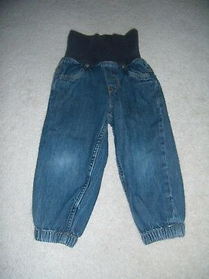 Baby boys denim jogger style jeans from H&M age 1.5 - 2 years