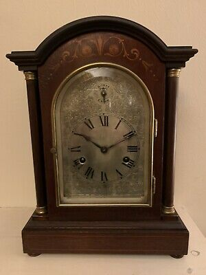 Antique 8 Day Bracket Clock HAC Quarter Striking Westminster Mantel Clock
