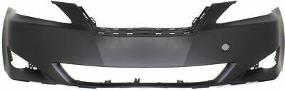 Front Bumper Cover For 06-08 Lexus IS250 w// fog lamp holes IS350 Primed CAPA