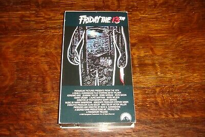 Friday The 13th VHS 1980 Classic Horror Movie - 1994 Box