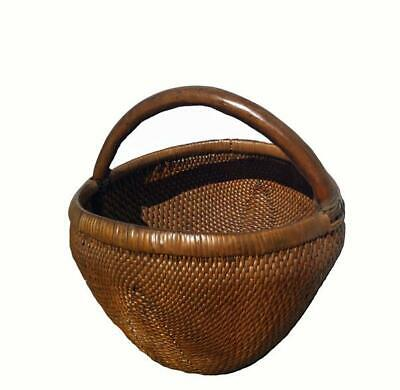 Hand-Woven Antique Chinese Baskets 1