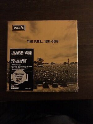 Oasis Time Flies... 1994 - 2009 Limited Edition 4 Disc Box Set Unopened
