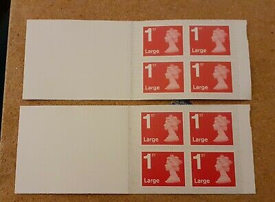 Brand New X 8 Large Royal Mail 1St Class Stamps (Free Postage)