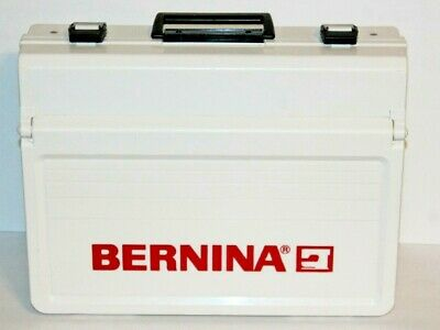 Bernina White w/ Red Letters Sewing Accessory Case w/ Bottom Drawer
