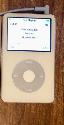 Apple iPod Classic 5th Generation Enhanced 80 GB - White