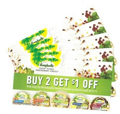 14 x Buy 2 Save $1 on Bonduelle Fresh Picked Products Coups (Canada)
