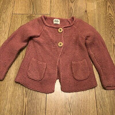 mini boden girls 2-3 years, Cardigan In Pink Used But Good Condition
