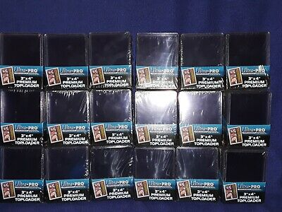 450 Premium Toploaders  Ultra Pro 3x4 Sports Trading Card Holders. New!