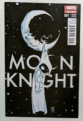 Moon Knight 1 Skottie Young Variant (2014)