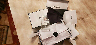 CHANEL No 5 Eau De Parfum 3.4 oz/100ml EMPTY w/original packiing Spray Bottle