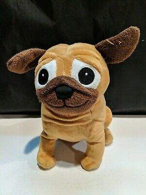 Pug Dog YIP SNAP YAP Kohls Cares for Kids PLUSH Toy NEW CHARLES FUGE Puppy NWT