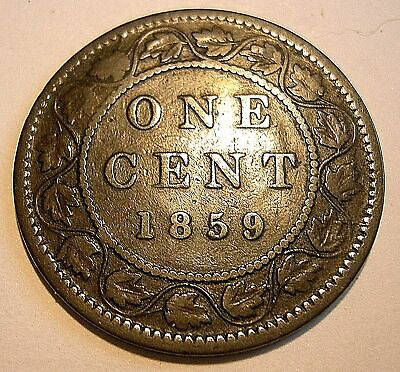 1 Cent 1859   - PC59-233  Repunched 5 ..................... (add lots $0.25 ea.)