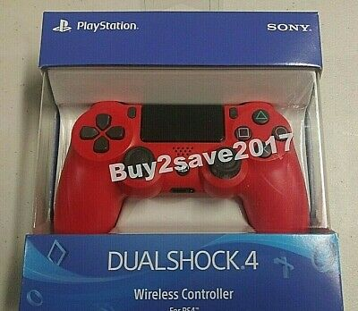 Sony DualShock 4 Gamepad PS4 controller Magma RED  Wireless *NEW*