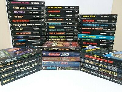 Star Trek Series Books Bulk Lot 59 Vintage Paperback Novels Incl. First Editions