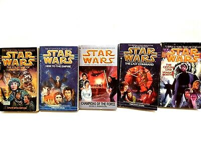 Star Wars Vintage Books Bulk Lot 5 Novels in Total 3 x 1st / First Editions