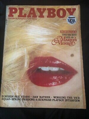 Playboy US Issue May 1979 Marilyn Monroe