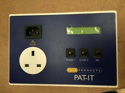First Stop Safety PAT-IT Portable Appliance Tester / PAT Tester