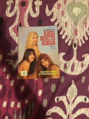 Playboy's Blondes Brunettes Redheads February 1990