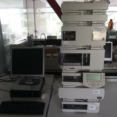 Agilent 1100 HPLC systems with VWD detector