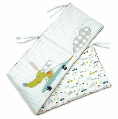 BNWT Mamas and Papas Pixie and Finch Boys Cot Bumper RP £55