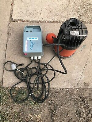 ABS Submersible Sewage Pump - 2HP, 3450 RPM, 230V - 140 Gpm