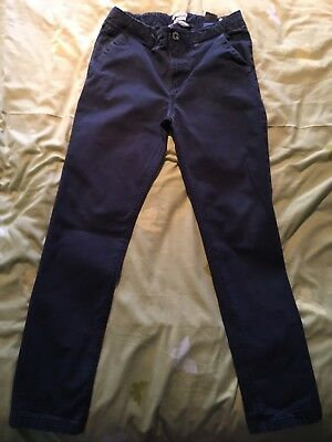 H&M - Hennes Blue Chinos ( Euro 164 )