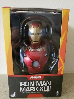 Iron Man Hot Toys 1:6 Mark XLIII Bust Avengers