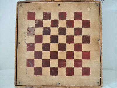 Antique Double Sided Game Board