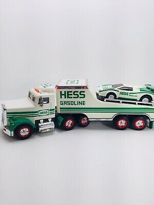 Hess Gasoline Collectors 1991 Toy Truck & Race Car - Working Lights