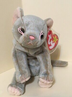 MINT with MINT TAG TY SCAT the CAT BEANIE BABY