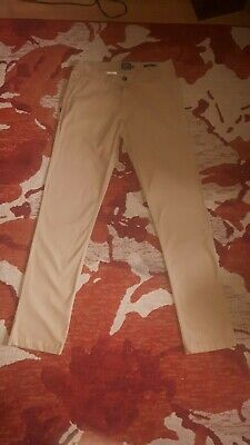 Joules Laundered Chino Trousers Golden Brown 97% Cotton Size 30W 32L  VGC