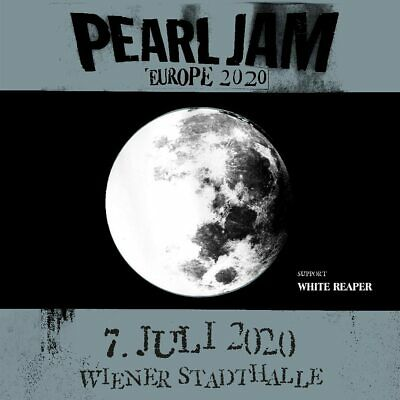 Pearl Jam   2 x Front of Stage   Wien Vienna   07.07.2020   !SOLD OUT!