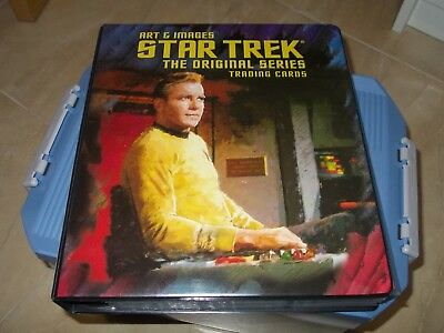 Star Trek The Original Series TOS Art & Images Rittenhouse nearly master set